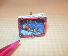Miniature Christmas Eve Classic Story/Color-Text: DOLLHOUSE Miniatures 1:12
