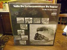 Valle De La Locomotora De Vapor LP STEAM Sealed TRAIN 1964 Mobile Fidelity