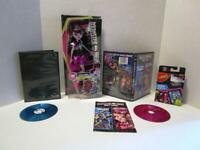 New 2015 Monster High Draculaura Fashion Doll +BONUS DVDS & UNO Card Game