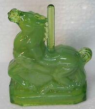 Boyd Glass Taffy the Carousel Horse Jade