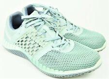 Reebok Women's Size 8.5 Green Athletic Sneakers Woven Pattern 023501 EUC