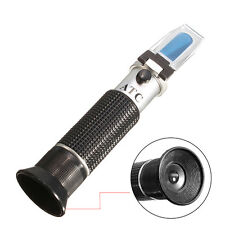 Aluminium 0-10% Hydrometer Atc Salinity Refractometer For Aquarium Fish Tank