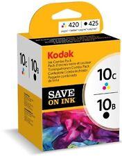 Kodak 10B Black and 10C Colour Original Combo MP Ink Cartridge 3949948 Hero ESP
