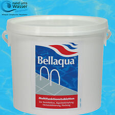 BELLAQUA Multifunktion Tabletten 200g 4in1 MULTITABS Pool BAYROL Langzeit 5kg