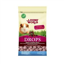 Hagen Living World DROPS Guinea Pig Treats 2.6 oz FIELDBERRY