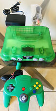 Nintendo 64 Jungle Green funtastic N64 Jungle Complete & Tested