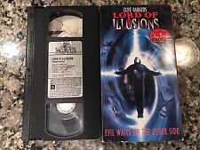 LORD OF ILLUSIONS VHS! 1995 Horror! Candyman Nightbreed Hellraiser Terror Train