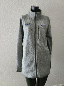 Patagonia Mens Large Full Zip Gray Better Sweater Jacket