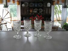 Four Anchor Hocking Wexford Claret Wine Glasses ~ In EC! Multiples Available