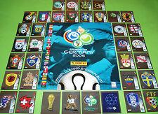 Panini WM 2006 Deutschland - Wappen komplett + Leeralbum