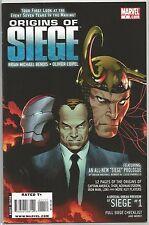 Origins of Siege #1 : Marvel comic book
