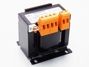 Einphasen Steuertransformator Steuertrafo Transformator 400V/230V 100VA Strobelt