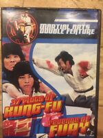 37 Plots of Kung-Fu / Revenge of Fury DVD Double Feature Martial Arts