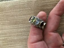 Natural Multi Gemstone Ring Sterling Silver Ladies Size 7