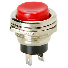 Momentary N.C. Panel Mount Push Button Switch
