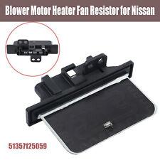 Blower Resistor 51357125059 Motor Heater Fan for Nissan Pulsar N15 Navara D22