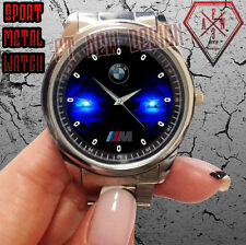 NEW BMW M3 M4 M5 M6 M POWER ALL SERIES MENS SPORT METAL WATCH