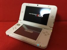 USED Nintendo 3DS LL XL Game Console System White x Pink Japan Import F/S
