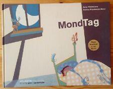 Mond-Bilderbuch HC GF quer MONDTAG Atlantis Kinderbücher 2000 Zustand 1/2