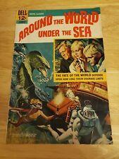 Around The World Under The Sea Dell Comics VG/FN Silver Age