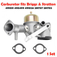 12HP Carburetor For Briggs and Stratton 491026 281707 491031 490499 Engine Part