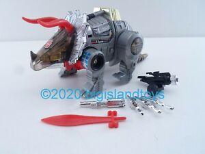 Transformers G1 Generation 1 Hasbro 1985 Slag Dinobot Complete Autobot