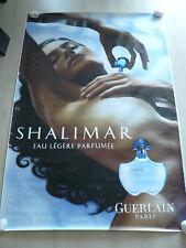"""Affiche parfum""""Shalimar"""" Eau légère parfumée de Guerlain"""