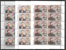 ARMENIA SC 603-4a-605 MNH MINISHEETS OF 2000 - POLITICIANS ASSASSINATED