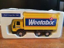 CORGI weetabix FORD CARGO BOX VAN-Boxed