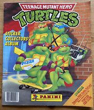 Teenage Mutant Ninja (Hero) Turtles Panini Stickers Sticker Album 1990 Rare