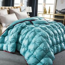 3D Luxury Comforter Down Duvet Quilted King Queen Full Size Winter Thick Blanket