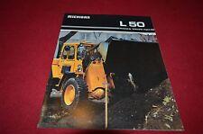 Michigan L50 Wheel Loader Dealer's Brochure DCPA4 ver2