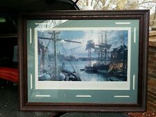 John Stobart Signed & Numbered Baltimore Federal Hill & the Marine Observatory