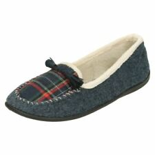 Pantofole da donna mocassini sintetico