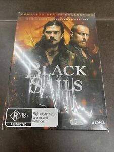 Black Sails season one -four 1-4 brand new sealed