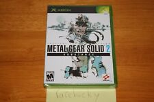 Metal Gear Solid 2: Substance (Xbox) NEW SEALED Y-FOLD W/UPC, MINT & RARE!
