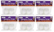 Vampire Fangs Glow In Dark Kids Toys Party Favor Halloween Boy Girl Set 72 NEW
