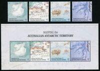 AAT Australische Antarktis 2019 Landkarten Kartographie Mawson Forschung Map MNH