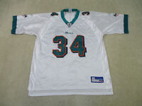 Reebok Ricky Williams Miami Dolphins Football Jersey Adult Extra Large Mens A72*