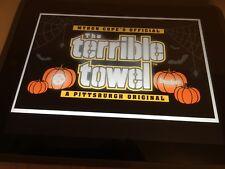 "Terrible Towel PITTSBURGH STEELERS ""GLOW IN THE DARK""HALLOWEEN TERRIBLE TOWEL"