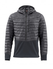 SIMMS Men's Exstream BiComp Hoody-- Raven (New with Tags)