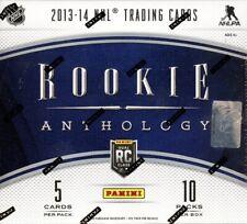 2013/14 PANINI ROOKIE ANTHOLOGY HOCKEY HOBBY BOX BLOWOUT CARDS