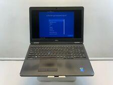 """New listing Dell 15.6"""" Latitude E5550 Core i5-5300u 256Gb Ssd 8Gb Ram Win 10 Pro"""
