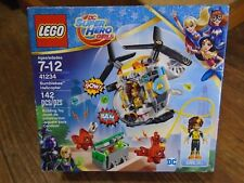 LEGO--DC SUPER HERO GIRLS--BUMBLEBEE HELICOPTER SET (NEW) 41234