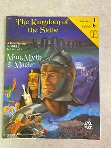 Vintage 1982 Yaquinto 4308 Man, Myth And Magic Kingdom Of The Sidhe RPG #T605