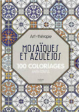 Art Therapy Mosaics 100 Designs Colouring in and Relaxation ADULT COLOURING BOOK