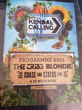 DEBBIE HARRY - HAND SIGNED - KENDAL CALLING PROGRAMME
