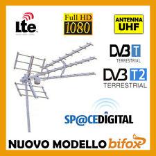 ANTENNA TV DIGITALE TERRESTRE LTE 4G 21 60 UHF 46 45 ELEMENTI ALTO GUADAGNO DVB