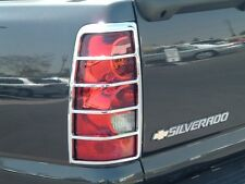 GMC SIERRA 1500/2500  1999 - 2006 TFP CHROME ABS TAILLIGHT COVER SET - 300D