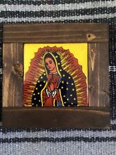 WaLL HaNgiNg ReCLaiMEd WooD MeXiCAN TaLaVeRa TiLe ArT HaNdMaDe ViRGiN MaRY